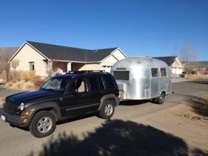 towing airstream